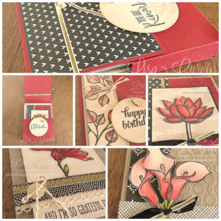 Remarkable You Box & Cards, PDF tutorial, Lisa's Stamp Studio, www.lisasstampstudio.com