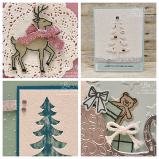 Santa's Sleigh Card Collection, PDF tutorial, Lisa's Stamp Studio, www.lisasstampstudio.com
