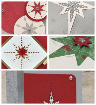 Star of Light Card Collection, PDF tutorial, Lisa's Stamp Studio, www.lisasstampstudio.com