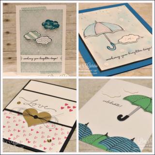 Weather Together Card Collection, PDF tutorial, Lisa's Stamp Studio, www.lisasstampstudio.com