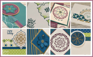 Eastern Palace Suite Card Collection Tutorial  Lisa's Stamp Studio