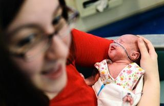 RMH baby in NICU