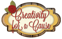 Lisa's Stamp Studio Creativity for a Cause button
