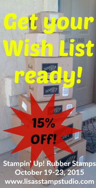 15% off UPS boxes stamped