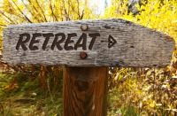 Retreat sign email size