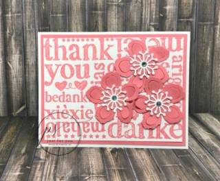A World of Thanks, Stampin' Up!, card, paper, craft, scrapbook, rubber stamp, hobby, how to, DIY, handmade, Live with Lisa, Lisa's Stamp Studio, Lisa Curcio, www.lisasstampstudio.com