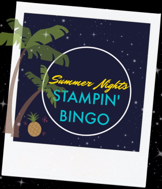 Summer Nights Bingo, Lisa's Stamp Studio
