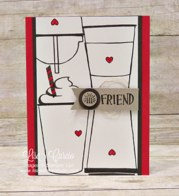 Hi Friend, Coffee Cafe Card