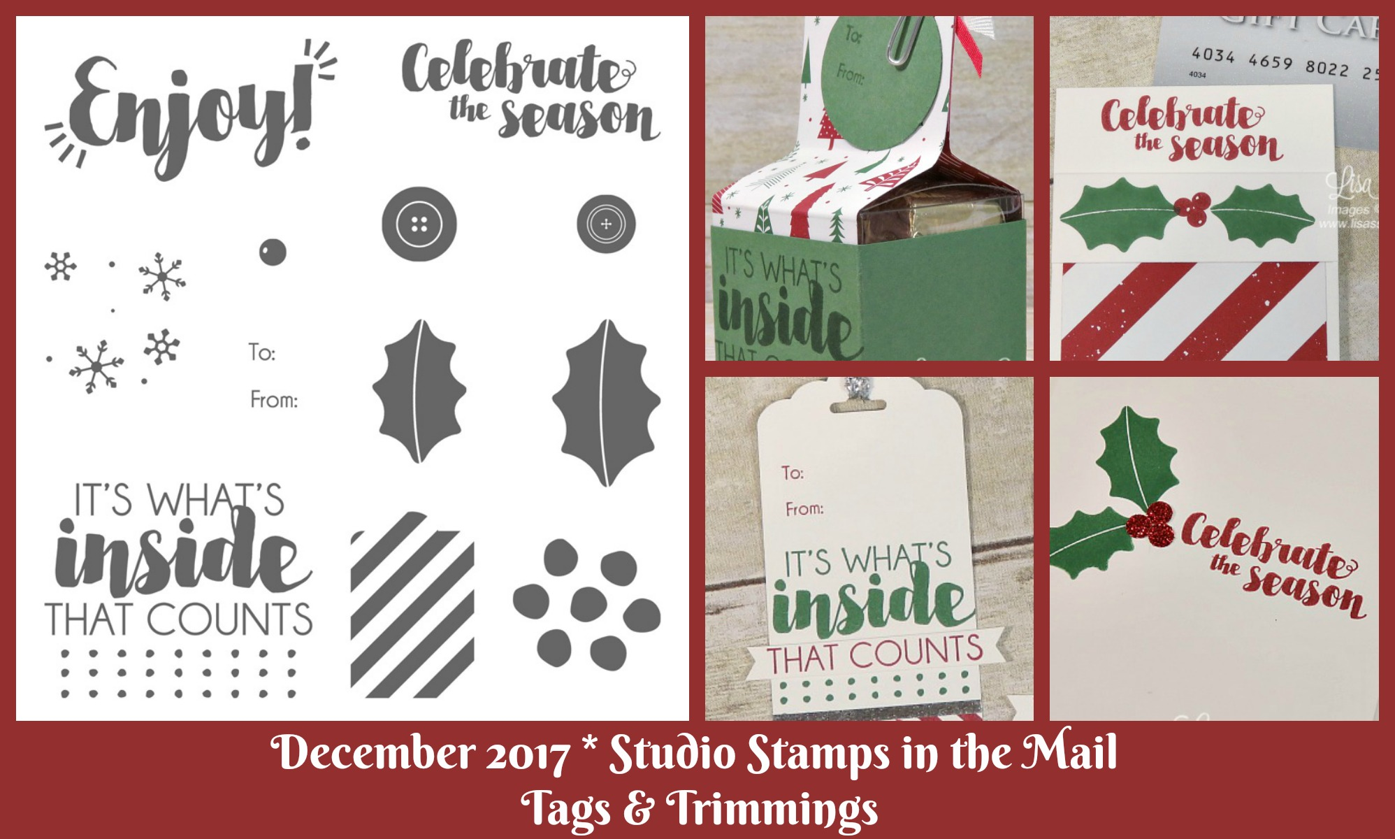 Introducing December's Studio Stamps in the Mail