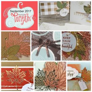 """Seven alternate project ideas using the September Paper Pumpkin kit. We call it """"Paper Pumpkin Parade"""". It's one great idea after another! Stampin' Up!"""