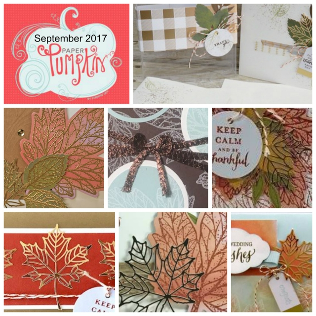 "Seven alternate project ideas using the September Paper Pumpkin kit. We call it ""Paper Pumpkin Parade"". It's one great idea after another! Stampin' Up!"
