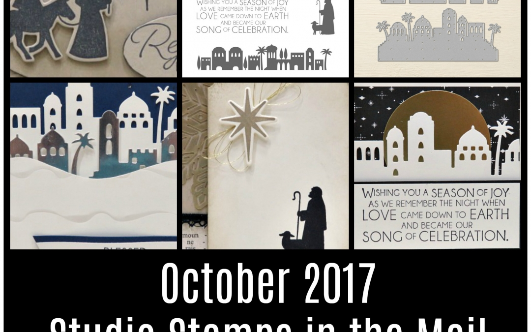 October's Studio Stamps in the Mail