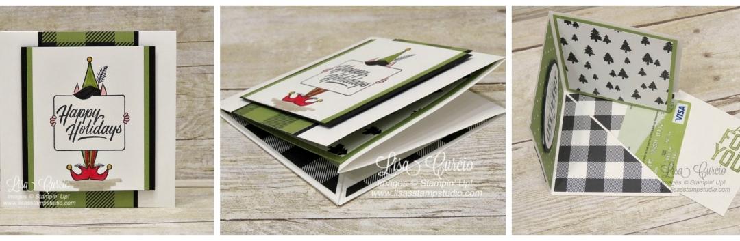 Corner Pop Up Gift Card Holder
