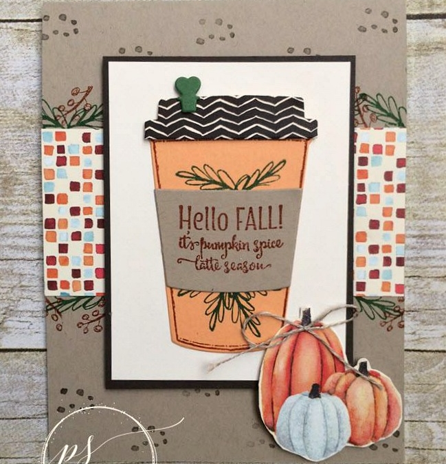 Hello Fall Coffee Tutorial