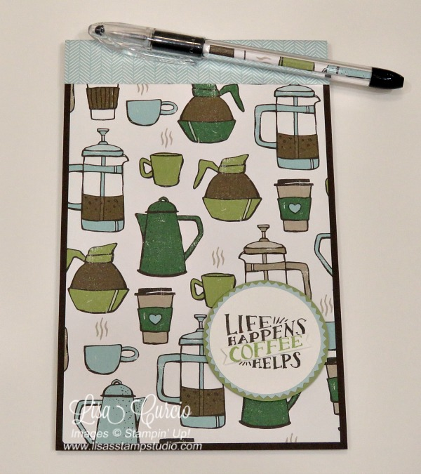 Quick Crafting Tip – Easy Decorated Note Pad