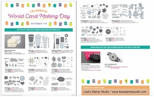 World Cardmaking Day just got more fun with 15% off. Stampin' Up! sale!