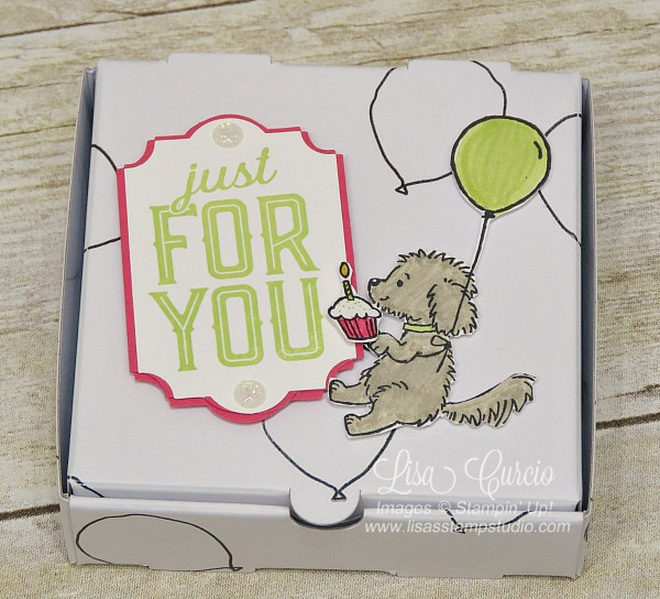 Party Time Mini Pizza Gift Box