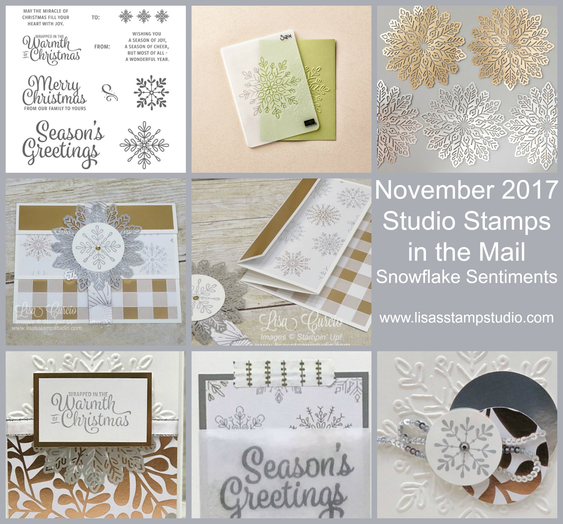 Final Day to Order – November Studio Stamps in the Mail