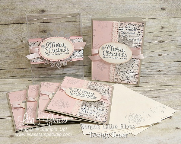 Snowflake Sentiments Gift Set – Acetate Card Box & Cards Tutorial