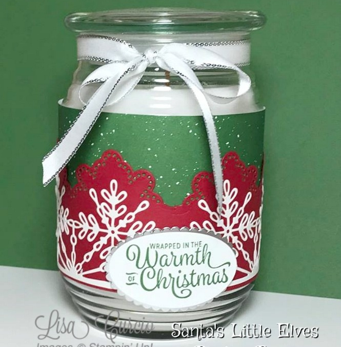 Wrapped in Warmth Jar Candle Wrap Tutorial