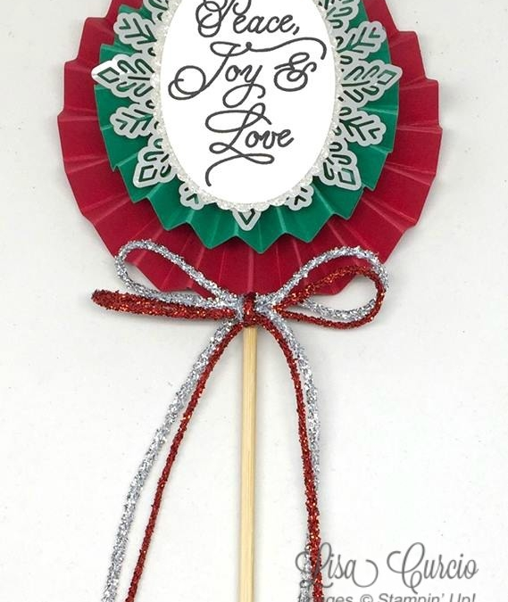 Christmas Lolly Tutorial and Year-End Sales Event
