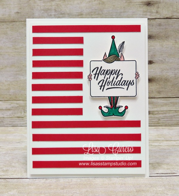 Candy Cane Stripes for the Holidays & Stamparatus Reservations