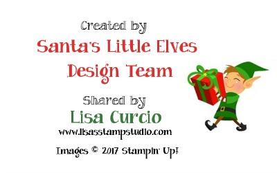 Lisa's Stamp Studio - design member of Santa's Little Elves. Christmas gift exclusives 2017