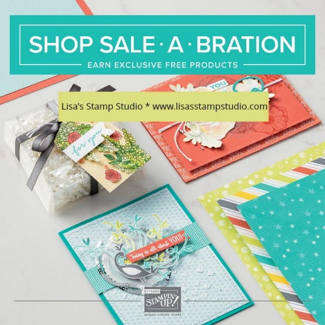 Sale-A-Bration 2018 at Lisa's Stamp Studio