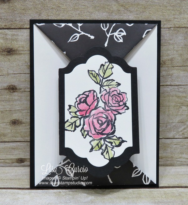Petal Palette Double Point Fold Card
