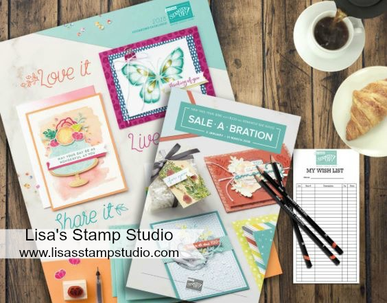 Stampin' Up! Occasions Catalog and largest sale of the year Sale-A-Bration. 2018