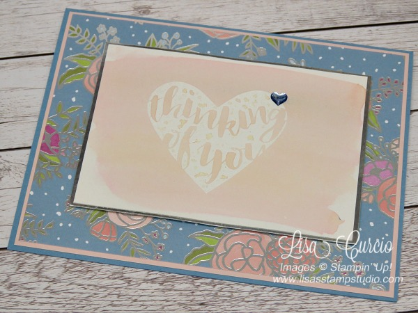 Video tutorial to teach you how to create watercolor wash backgrounds using Brusho. Stampin' Up!