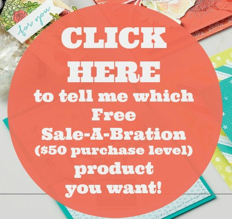 Click here to tell me which Sale-A-Bration product you would like for free. Lisa's Stamp Studio - Studio Stamps in the Mail.