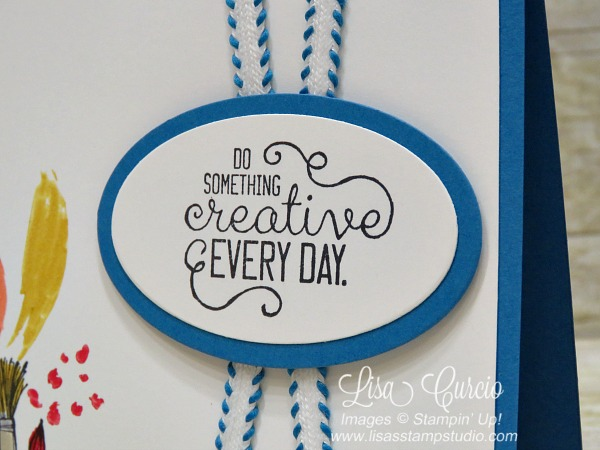 Do something creative everyday. Crafting Forever by Stampin' Up!