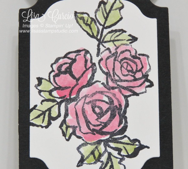 Video tutorial. Cover view of the double point fold card using the Petal Palette stamp set. Stampin' Up!