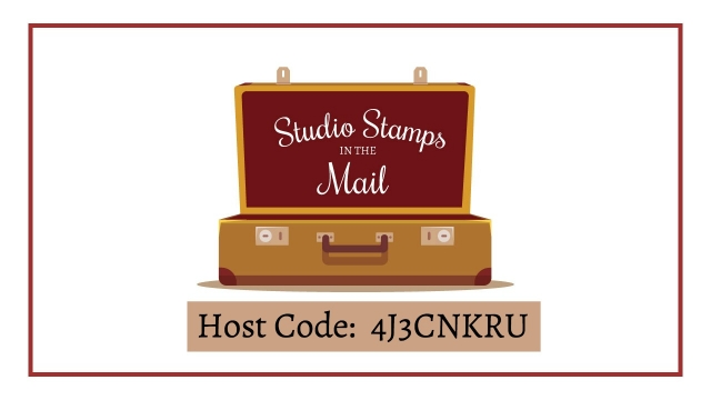 March Studio Stamps in the Mail exclusive Host Code for free pre-cut supplies. Petal Palette Bundle. Lisa's Stamp Studio