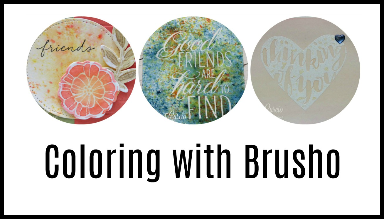 Quick Crafting Tip – Coloring with Brusho & Spotlight with Lisa Tonight