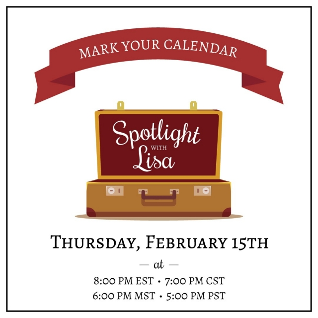 Free Facebook live event Spotlight with Lisa. Lisa's Stamp Studio.