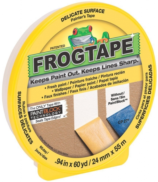 Frog tape low tack for watercolor background masking. Lisa's Stamp Studio