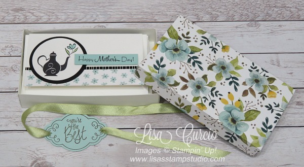 A Mother's Flair Narrow Note Cards & Box