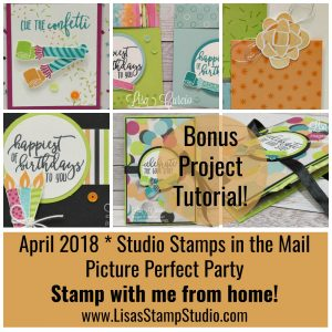 Picture Perfect Birthday – Studio Stamps in the Mail