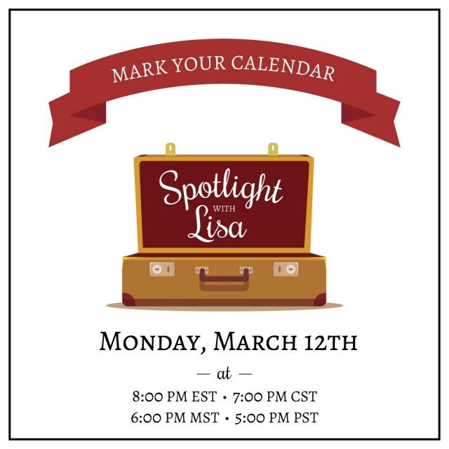 Spotlight with Lisa Live Facebook event paper crafting demonstration, tips and interactive fun. Stampin' Up!