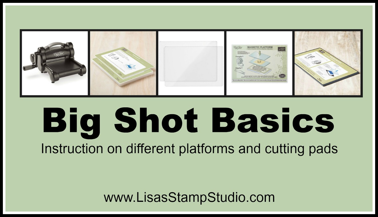 Quick Crafting Tip – Big Shot Basics