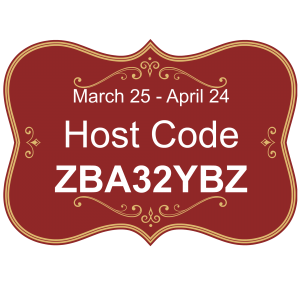 March 25 - April 24, 2018 Host Code. Lisa's Stamp Studio