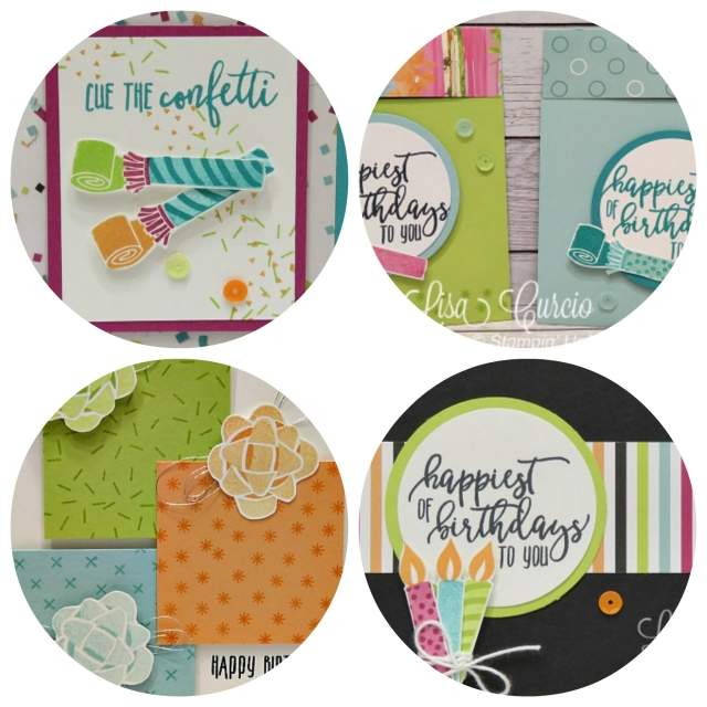 Picture Perfect Birthday Project PDF Tutorial. Lisa's Stamp Studio
