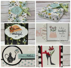Narrow Note Cards, Envelopes & Gift Box $9