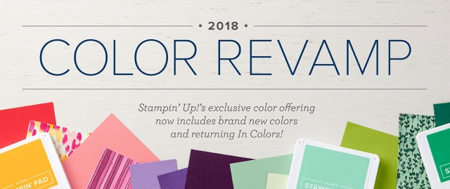 Stampin' Up! Color Refresh 2018