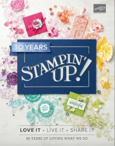 2018-2019 Stampin' Up! Annual Catalog debuts on June 1, 2018. Lisa's Stamp Studio