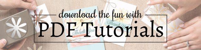 PDF Tutorials Banner