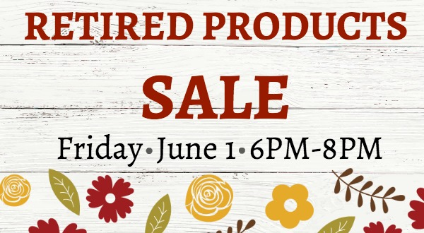 Retired Products Sale!