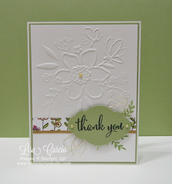 Share What You Love Thank You Card